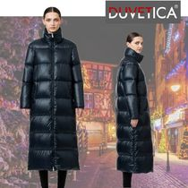 DUVETICA Plain Long Down Jackets