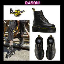 Dr Martens Street Style Leather Boots Boots