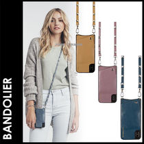 Bandolier SARAH Plain Leather Smart Phone Cases