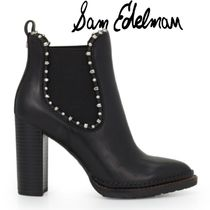 Sam Edelman Casual Style Plain Leather Ankle & Booties Boots