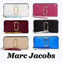 MARC JACOBS Saffiano Street Style Bi-color Long Wallets