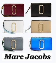 MARC JACOBS Bi-color Leather Folding Wallets