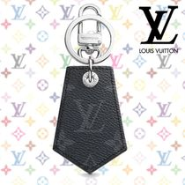 Louis Vuitton MONOGRAM Monogram Blended Fabrics Studded Plain Leather