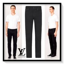 Louis Vuitton Denim Street Style Plain Skinny Fit Jeans & Denim