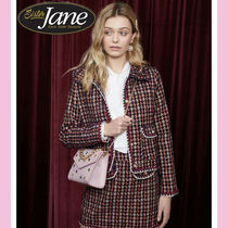 Sister Jane Other Check Patterns Casual Style Medium Jackets