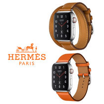 HERMES Leather Elegant Style Watches