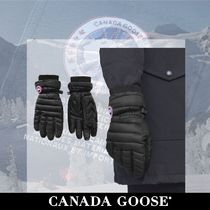 CANADA GOOSE Blended Fabrics Plain Smartphone Use Gloves