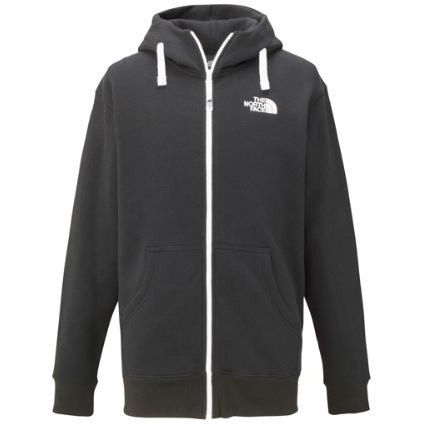 THE NORTH FACE Hoodies Unisex Long Sleeves Plain Cotton Hoodies 2