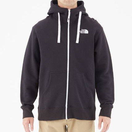 THE NORTH FACE Hoodies Unisex Long Sleeves Plain Cotton Hoodies 3
