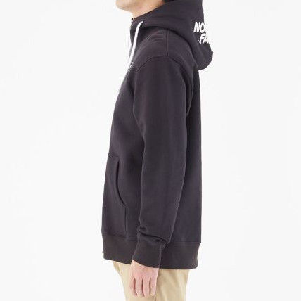 THE NORTH FACE Hoodies Unisex Long Sleeves Plain Cotton Hoodies 4