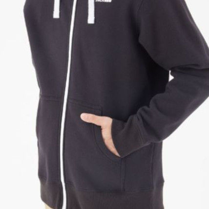 THE NORTH FACE Hoodies Unisex Long Sleeves Plain Cotton Hoodies 6