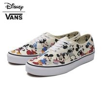 VANS AUTHENTIC Casual Style Unisex Collaboration Low-Top Sneakers