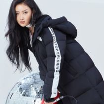 THE NORTH FACE WHITE LABEL Street Style Long Down Jackets