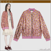 GUCCI Short Monogram Oversized Souvenir Jackets