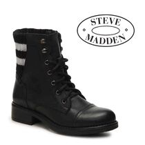 Steve Madden Leather Ankle & Booties Boots