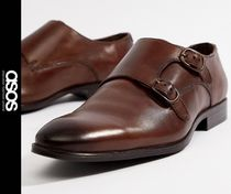 ASOS Monk Leather Loafers & Slip-ons