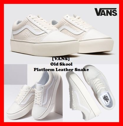 dd9ee319283 VANS OLD SKOOL 2018-19AW Casual Style Street Style Low-Top Sneakers ...