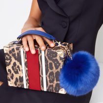 ALDO Leopard Patterns Casual Style 2WAY Clutches
