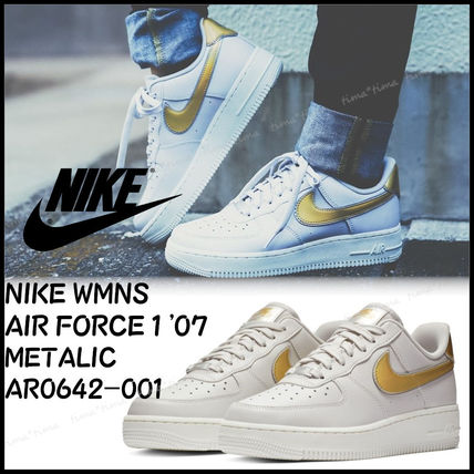 5d3eb04337d Nike AIR FORCE 1 2018-19AW Casual Style Unisex Street Style Low-Top ...