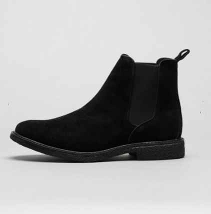 buy popular 6ab88 624ed Bee Inspired Clothing 2018-19AW Suede Street Style Plain Chelsea Boots  Chelsea Boots (J181118-7)
