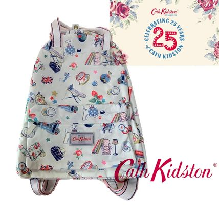 Flower Patterns Dots A4 Special Edition Backpacks