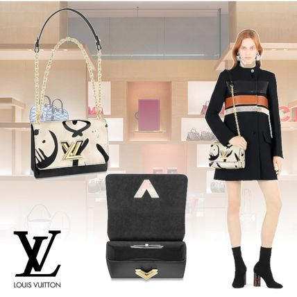 Louis Vuitton Shoulder Bags 2WAY Leather Elegant Style Shoulder Bags