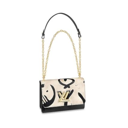Louis Vuitton Shoulder Bags 2WAY Leather Elegant Style Shoulder Bags 2