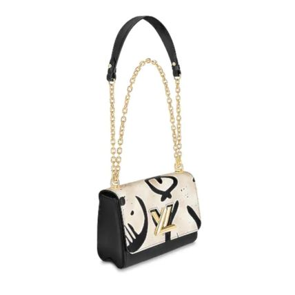 Louis Vuitton Shoulder Bags 2WAY Leather Elegant Style Shoulder Bags 3