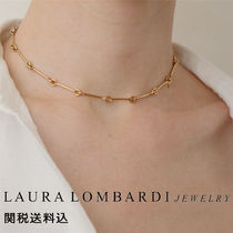 Laura Lombardi Costume Jewelry Chain Brass Elegant Style
