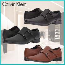 Calvin Klein Plain Toe Monk Plain Loafers & Slip-ons
