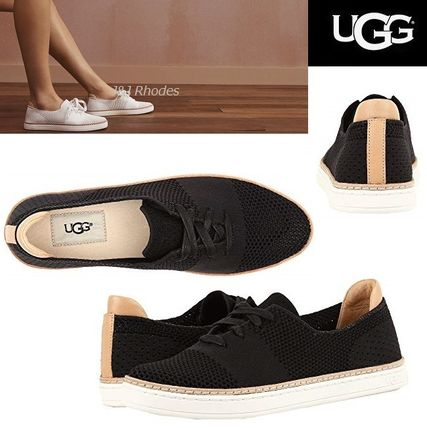 Lace-up Casual Style Plain Low-Top Sneakers