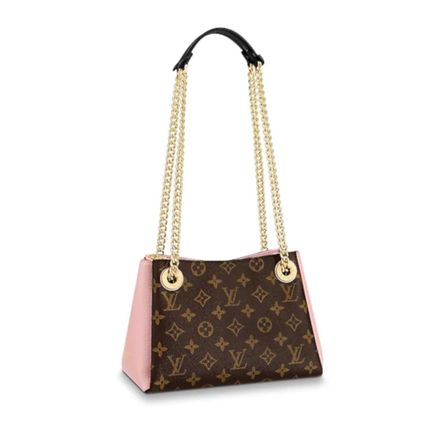 Louis Vuitton Handbags Monogram Leather Elegant Style Handbags 7