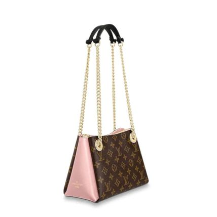 Louis Vuitton Handbags Monogram Leather Elegant Style Handbags 8