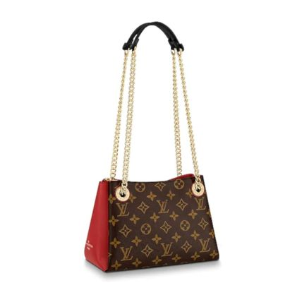 Louis Vuitton Handbags Monogram Leather Elegant Style Handbags 12