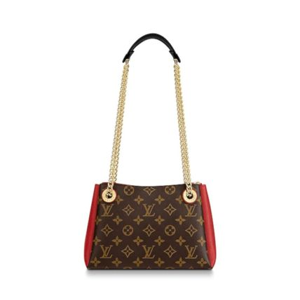 Louis Vuitton Handbags Monogram Leather Elegant Style Handbags 16