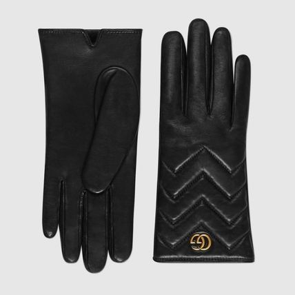 GUCCI Leather & Faux Leather Leather Leather & Faux Leather Gloves 2