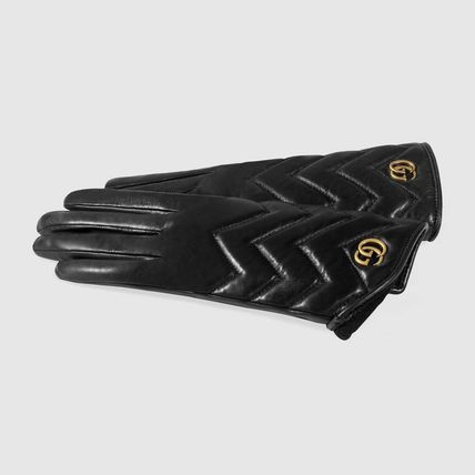 GUCCI Leather & Faux Leather Leather Leather & Faux Leather Gloves 3