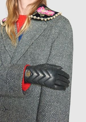 GUCCI Leather & Faux Leather Leather Leather & Faux Leather Gloves 4