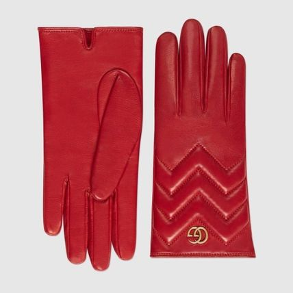 GUCCI Leather & Faux Leather Leather Leather & Faux Leather Gloves 5