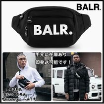 BALR Nylon Street Style Plain Messenger & Shoulder Bags