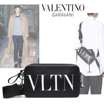 VALENTINO Calfskin Plain Special Edition Messenger & Shoulder Bags