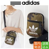 adidas Casual Style Canvas Street Style Plain Shoulder Bags