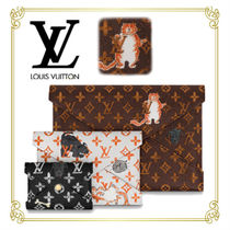 Louis Vuitton MONOGRAM Monogram Other Animal Patterns Leather Elegant Style