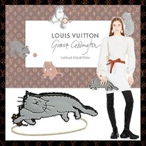 Louis Vuitton EPI Collaboration Chain Plain Other Animal Patterns Leather