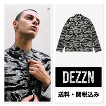 Dezzn Camouflage Long Sleeves Shirts