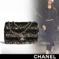 CHANEL Stripes Bags