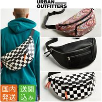 Urban Outfitters Other Check Patterns Unisex Faux Fur Street Style Plain