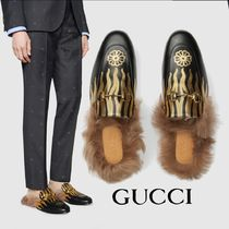 GUCCI Princetown Leather Loafers & Slip-ons