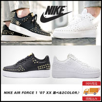 Nike AIR FORCE 1 Star Casual Style Unisex Studded Street Style