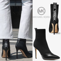 Michael Kors Casual Style Plain Pin Heels Ankle & Booties Boots